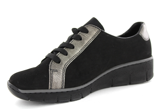 Rieker baskets sneakers 53713.00 noir5448901_2
