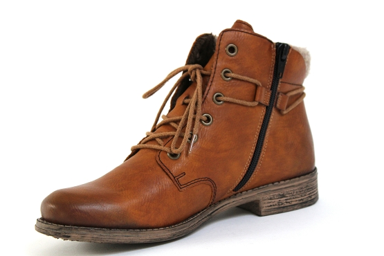 Rieker boots bottine 77423.22 camel5451401_2