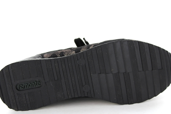 Remonte baskets sneakers r2505.02 noir5474201_4