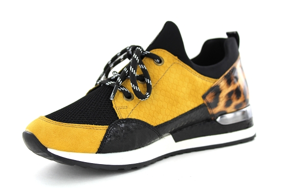 Remonte baskets sneakers r2503.68 jaune5478101_2