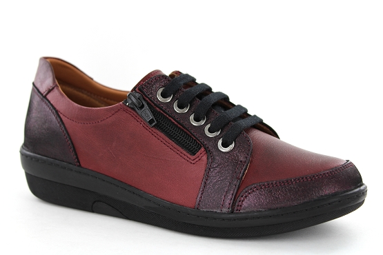 Karyoka baskets sneakers basic bordeaux5479101_1