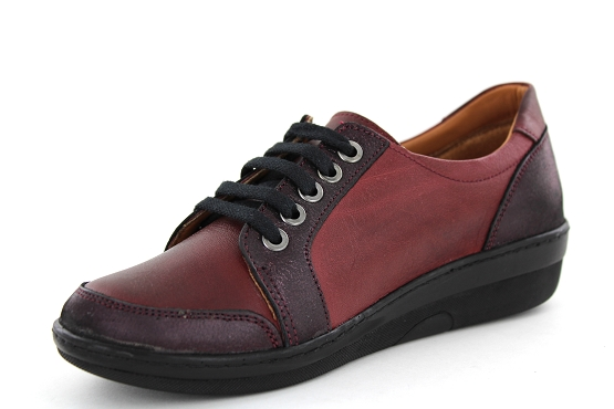 Karyoka baskets sneakers basic bordeaux5479101_2