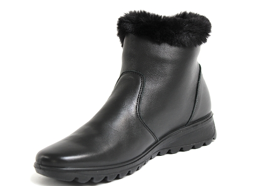 Enval soft boots bottine 4280900 noir5481601_2