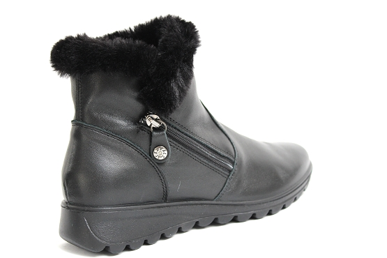 Enval soft boots bottine 4280900 noir5481601_3