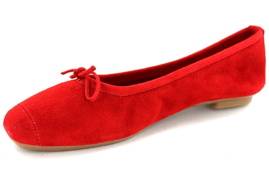Reqins ballerines rt.00050.8d harmony eclat cc cuir rouge5495201_2