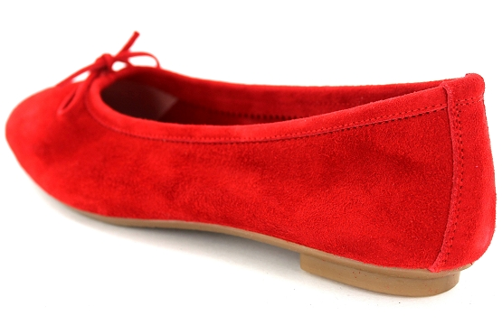 Reqins ballerines rt.00050.8d harmony eclat cc cuir rouge5495201_3