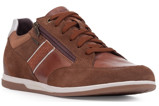 Geox baskets sneakers u154gd 022cl cuir camel5496101_1
