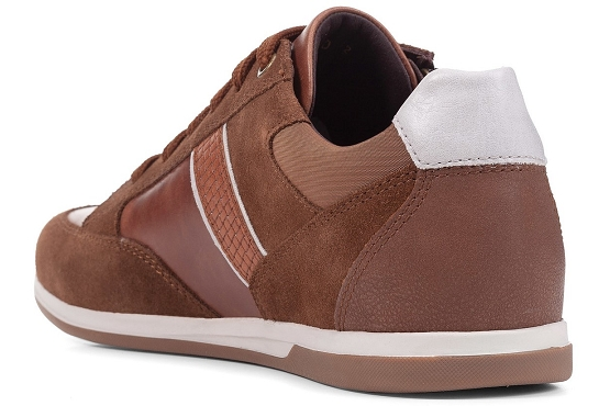 Geox baskets sneakers u154gd 022cl cuir camel5496101_2