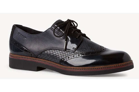 Tamaris derbies lacets 23711 noir8003902_1