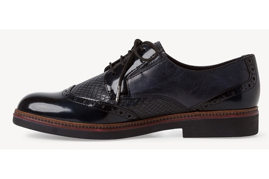 Tamaris derbies lacets 23711 noir8003902_2