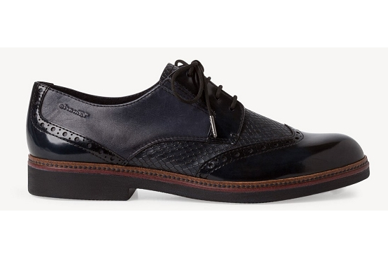 Tamaris derbies lacets 23711 noir8003902_3