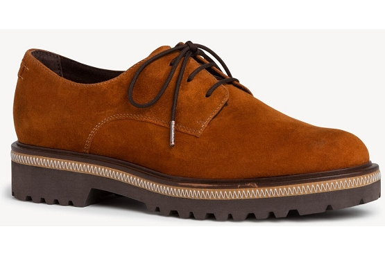 Tamaris derbies lacets 23723 orange8004103_1