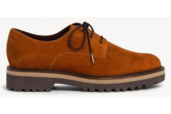 Tamaris derbies lacets 23723 orange8004103_3