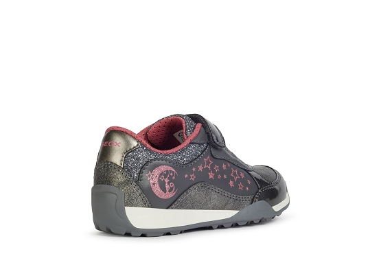 Geox baskets sneakers j04aua gris8007001_3