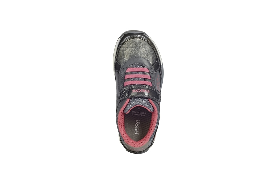 Geox baskets sneakers j04aua gris8007001_5