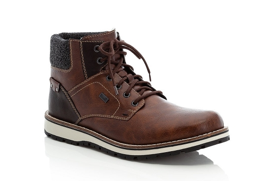 Rieker bottines boots 38434.26 marron8016701_1