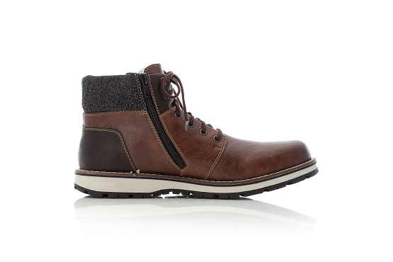 Rieker bottines boots 38434.26 marron8016701_3