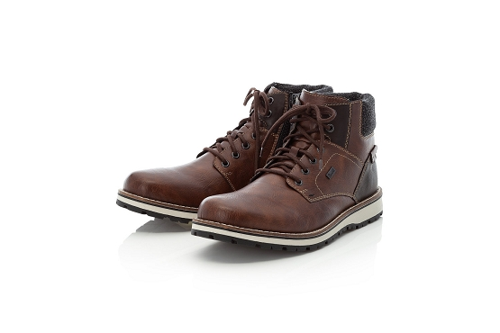 Rieker bottines boots 38434.26 marron8016701_4