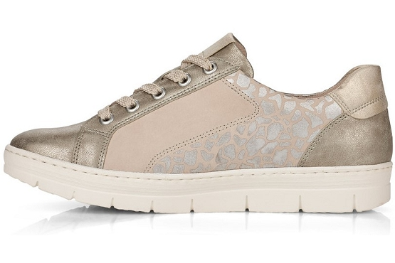 Remonte baskets sneakers d5821.60 beige8027801_2