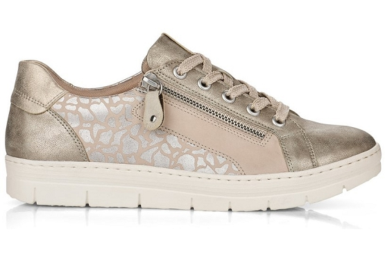Remonte baskets sneakers d5821.60 beige8027801_3
