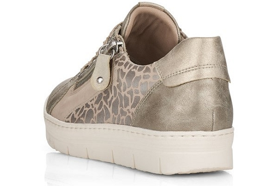 Remonte baskets sneakers d5821.60 beige8027801_4