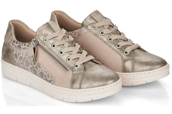 Remonte baskets sneakers d5821.60 beige8027801_5
