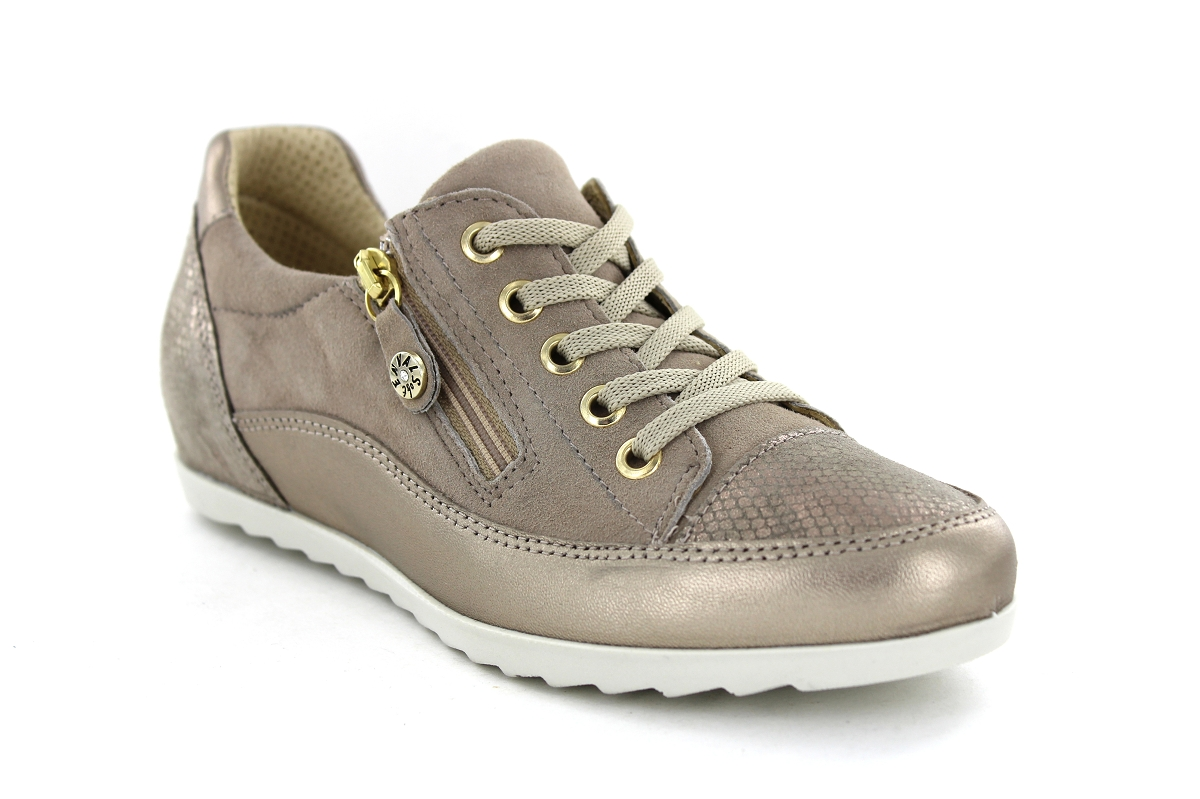 Enval 1255733 Taupe - Chaussures Baskets basses