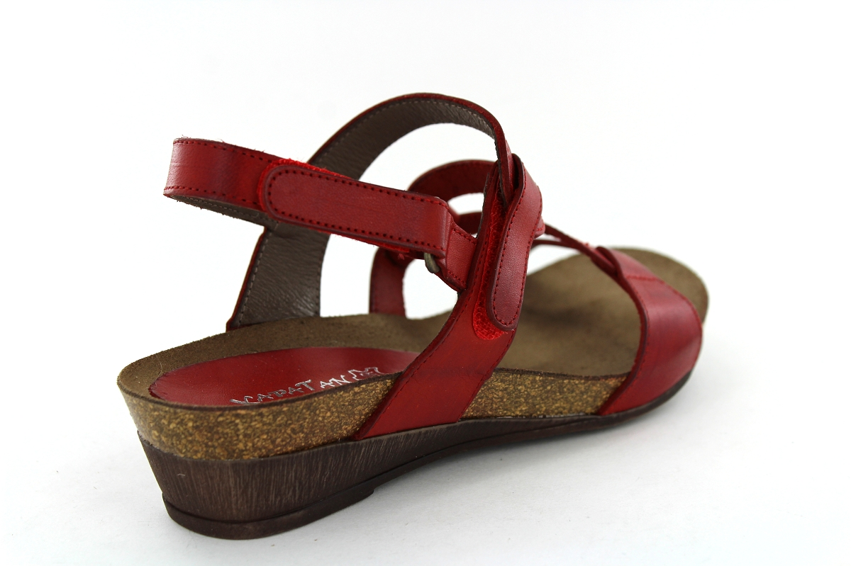 Sandales Pieds Xapatan Rouge Conti 2164 FemmeSergio Nu IyYbmgfv76