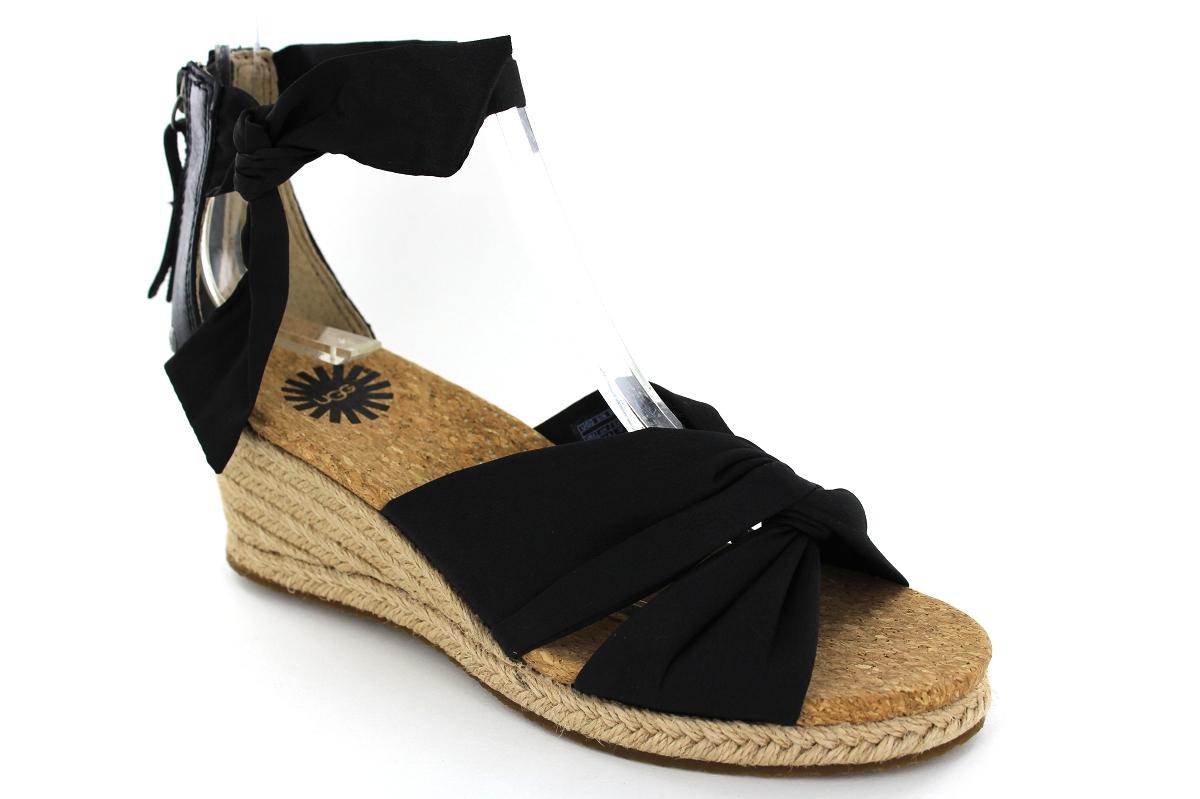 ugg sandale femme noir
